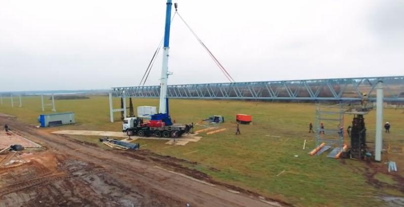 Skyway tesztpark ecotechnopark építkezés fotó 10