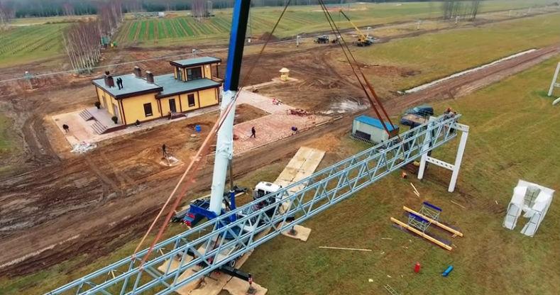 Skyway tesztpark ecotechnopark építkezés fotó 2