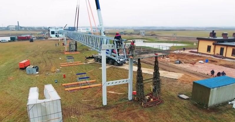 Skyway tesztpark ecotechnopark építkezés fotó 4