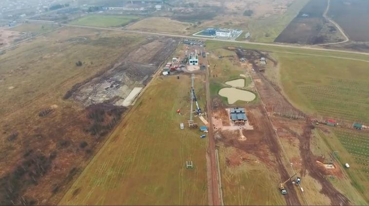 Skyway tesztpark ecotechnopark építkezés fotó 5