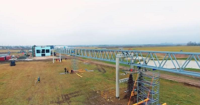 Skyway tesztpark ecotechnopark építkezés fotó 6