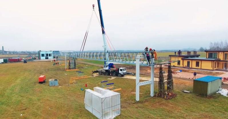 Skyway tesztpark ecotechnopark építkezés fotó 7