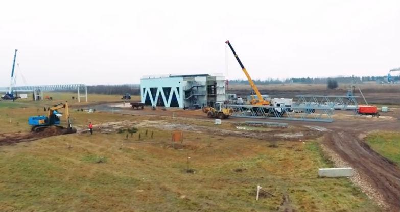 Skyway tesztpark ecotechnopark építkezés fotó 8