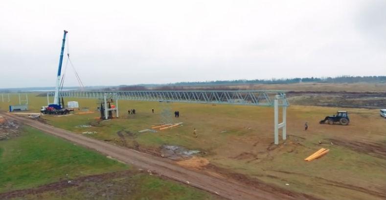 Skyway tesztpark ecotechnopark építkezés fotó 9
