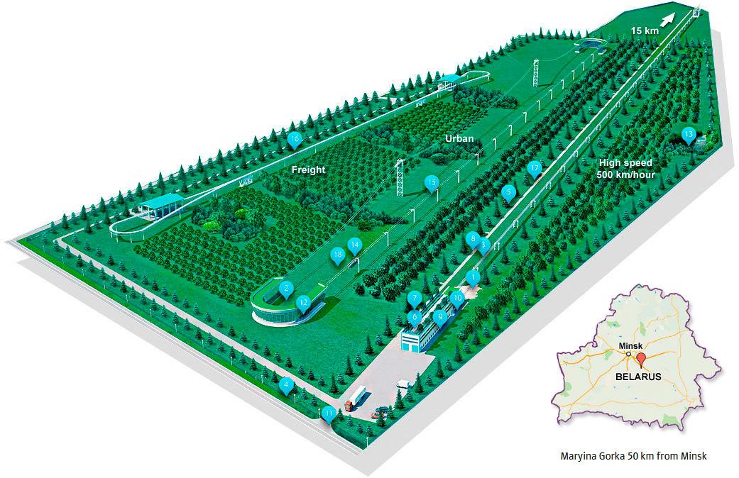 Skyway ECOtechnopark Eco Techno Park térkép a valóságban hol van