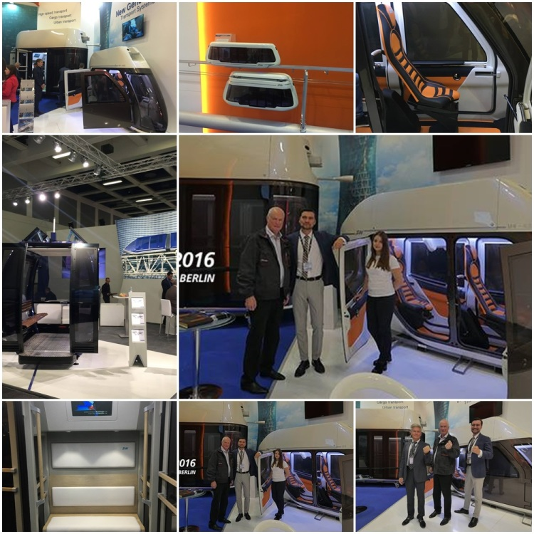 skyway drótvasút kész valódi valós élő méretű kabin